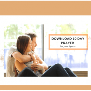 E-Book: Ten days prayer for spouse